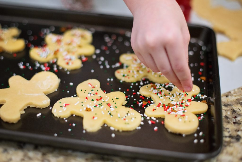 galletas navidad bandeja